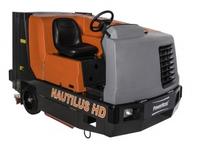 New scrubber sweeper...