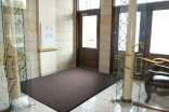 Crown attractive entry matting