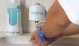 Digital bracelet from Hyginex encourage hand hygiene