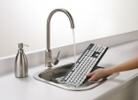 Washable keyboard helps fight germs