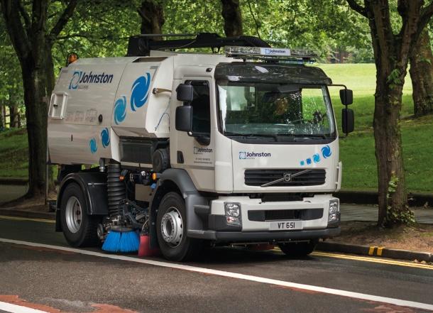 Truck Mounted V Range From Johnston Sweepers - ECJ