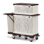 TTS MagicArt hotel linen trolleys