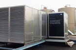 Industrial pollutants tackled by air cleaning in a box