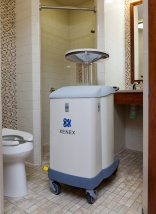 R2-D2 look-alike helps clean hospital rooms of superbugs