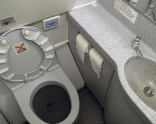 Air passenger detained for 'unflushed toilet'