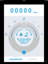 Fake running water app helps to mask toilet noises