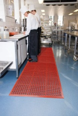 Notrax matting to prevent slips
