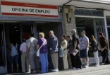Eurozone unemployment falls for first time in two years