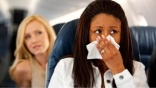 Travellers 'at risk' from aircraft germs
