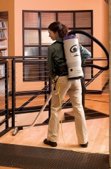 ProTeam backpack vacuums - three times faster?