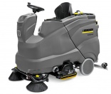 B 150 R scrubber dryer from Kärcher offers many options