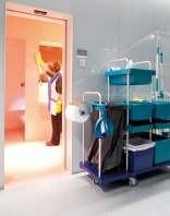 Wetrok ConceptCar trolley for healthcare