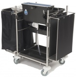 SYR's Solo flat mopping dosed trolley