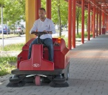 RCM updates R850 sweeper