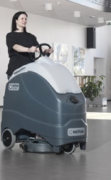 Stand-on Nilfisk scrubber SC1500