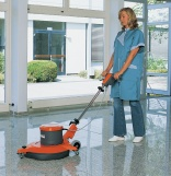 Three types of floor polishers from Hako