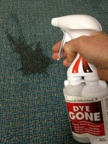 DyeGONE from Chemspec boasts no more stains