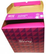 Binny disposable sanitary bins