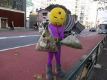Mangetsu Man cleans up Tokyo streets