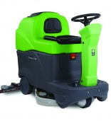IPC Gansow's smallest ride-on scrubber