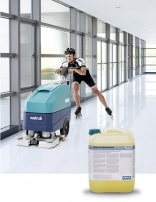 Wetrok Speedclean non-hazardous floor stripper