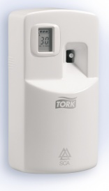 No fragrance fatigue with SCA Tork air fresheners