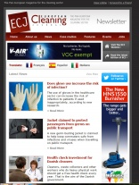 ECJ November newsletter online now!
