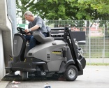Ride-on sweepers from Kärcher have patented features