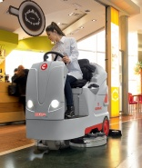 Versatile Optima scrubber dryer from Comac
