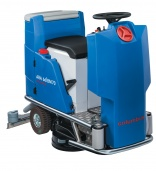 Columbus compact seated scrubber dryer