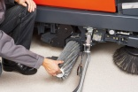 Scrubber dryers - a brush with technology