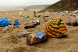 Wet wipe litter on UK beaches up by 50 per cent