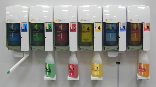 Automatic Chemical Dispensers ~ Chemical dispenser system automatic soap