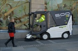 All-electric sweeper