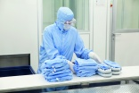 Laundering for cleanrooms
