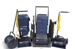 HOST dry extraction carpet cleaning system removes oil-based soil