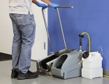 Footwear sanitising system from Dema Europe