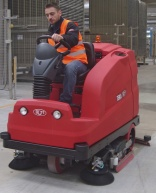 RCM Tera ride-on scrubber dryer