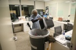 Office cleaner is still hard at work aged 92