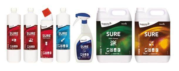 Kuvahaun tulos haulle sure products diversey