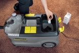 Kärcher RM 760 carpet cleaner needs no rinsing