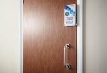 CannonTouch door handle sanitiser