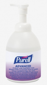 New Purell Advanced foam from GOJO