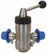 R+M Suttner chemical injector for car washing