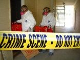 Crime scene clean-up company shares photos online