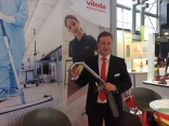 Vileda offers a solution for high-up healthcare cleaning