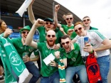 Why the world loves Irish football fans...