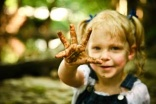 Dirty hands help to guard children from allergies