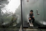 Loo with a view - China's first all-glass toilet