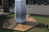 Dutch company unveils giant outside vacuum cleaner to filter dirty air